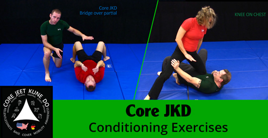 CoreJKD conditioning exercise video