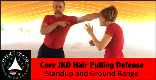 Hair pulling defense video