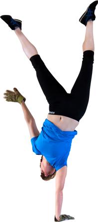 Anna one arm Handstand
