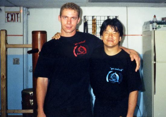 Shaun Rudie and Sifu Francis Fong