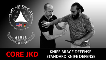 Knife Brace Attack Defense Video