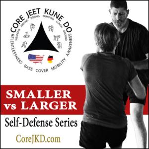 Smaller Person vs Larger Attacker Self-Defense