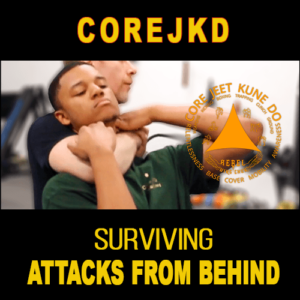 survive attacks from behind