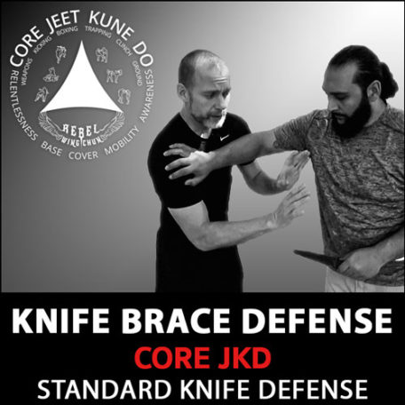 Knife brace defense