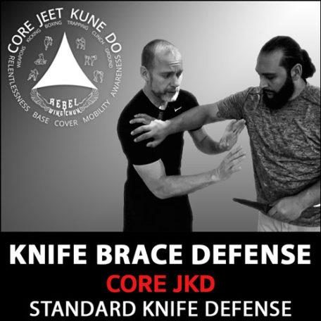 Knife brace defense
