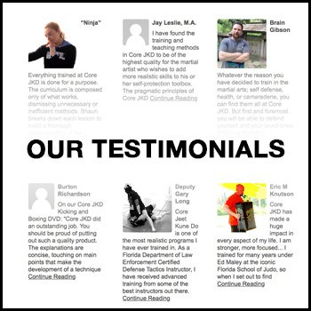Core JKD Testimonials