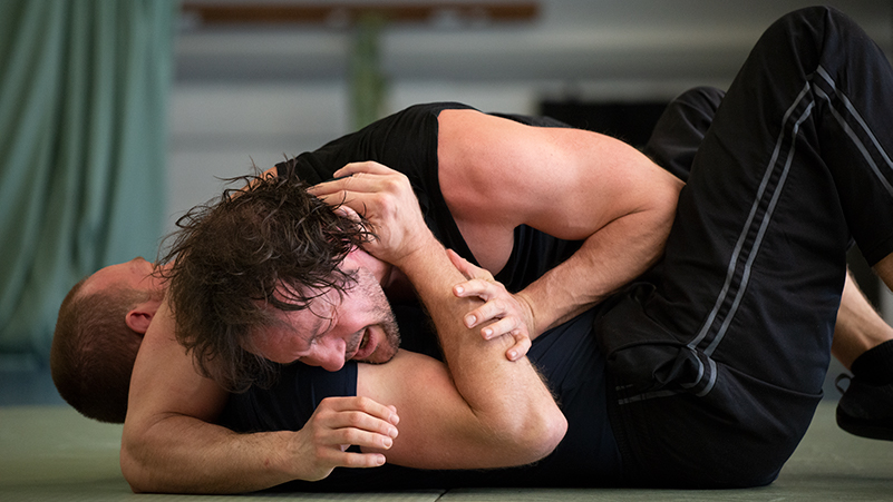 Marco Hildebrandt grappling test